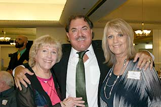 2013 Inductee- Mike Garcia with sisters, Carol and Suzi