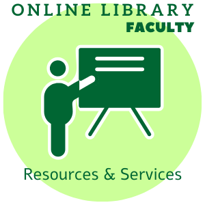 Online library resources and services for faculty guide