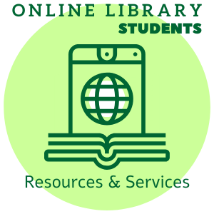 Online library resourcs and services for students guide